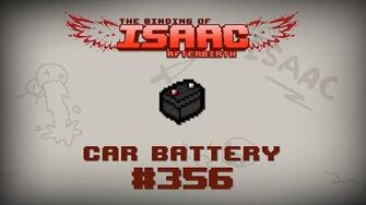 Binding of Isaac Afterbirth Item guide - Car Battery