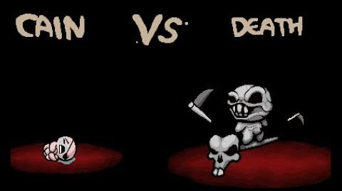 """The Binding of Isaac Rebirth """"Death"""" boss fight"""