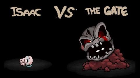 """The Binding of Isaac Rebirth """"The Gate"""" boss fight"""