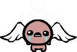 Issac with wings clear
