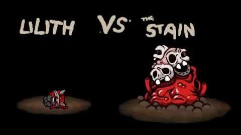 """The Binding of Isaac Afterbirth """"The Stain"""" boss fight"""