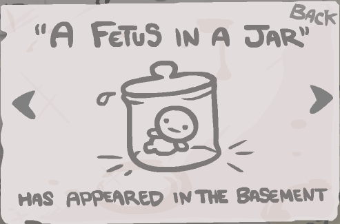A fetus in a jar