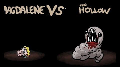 """The Binding of Isaac Rebirth """"The Hollow"""" boss"""
