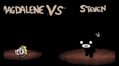 "The Binding of Isaac Rebirth ""Steven"" boss fight"