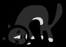 Dead Cat Icon Big