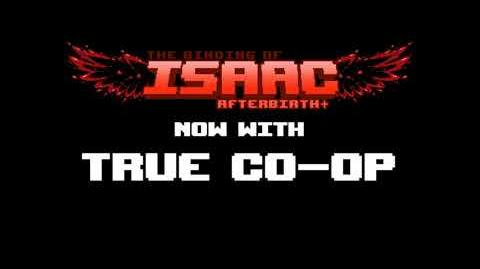True Co-op для The Binding of Isaac Afterbirth !