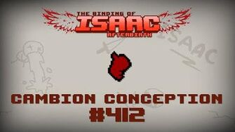 Binding of Isaac Afterbirth Item guide - Cambion Conception