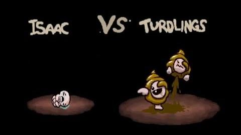"""The Binding of Isaac Afterbirth """"Turdlings"""" boss fight"""