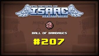 Binding of Isaac Rebirth Item guide - Ball Of Bandages