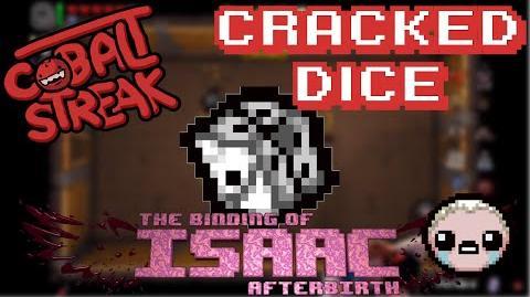 Isaac Afterbirth! Eden Streaks 61 - Cracked Dice - Cobalt Streak-1