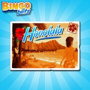 Honalulu Postcard