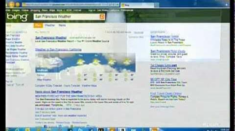 HTML5 Enhanced Version of Bing