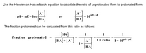 Protonated fraction