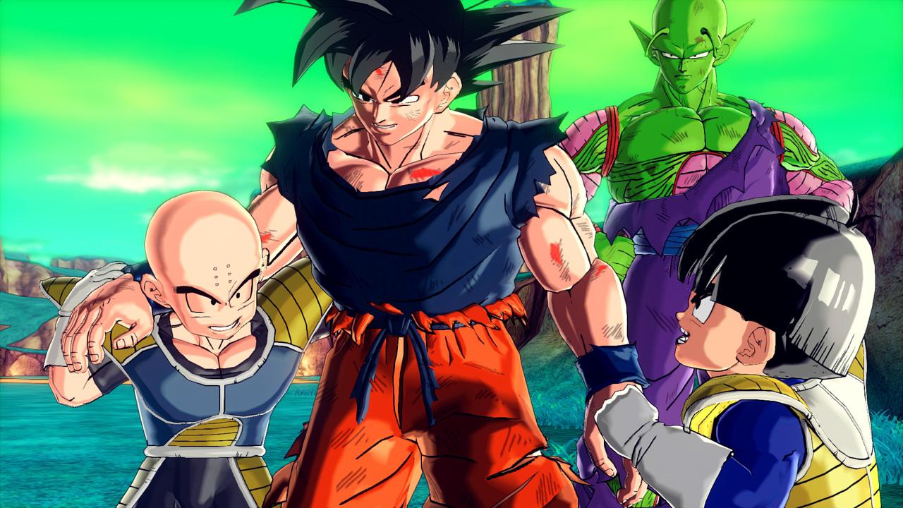 Image Goku And Piccolo And Krillin And Kid Gohan Jpg Biohazard