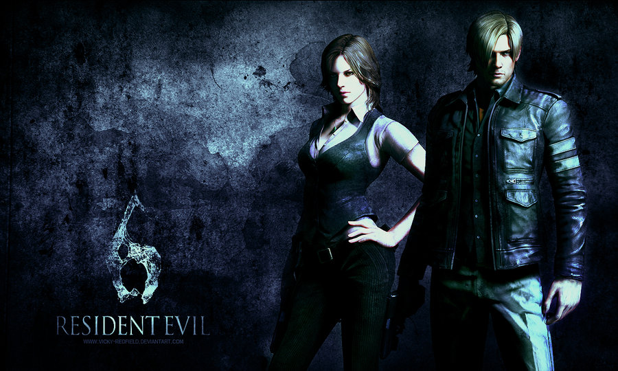 Resident Evil 6 Wallpaper By Vicky Redfield D4n11dy