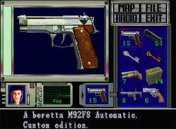 RE1 Beretta-custom