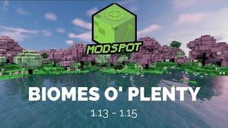 Biomes O' Plenty (1.13-1.15) Minecraft 4K Cinematic Mod Spotlight