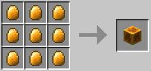 Block of amber