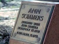 Tombstone AnnSomers