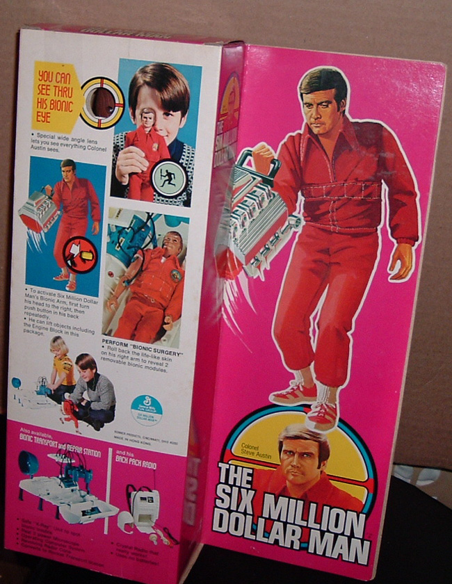 Bionic man toys