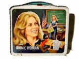 The Bionic Woman Aladdin lunchboxes