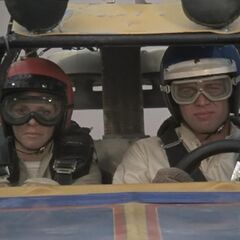 Driver and navigator.