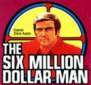 Six million dollar man toy logo