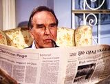 The Bionic Woman - Jim Elgin reading The Ojai Valley newspaper