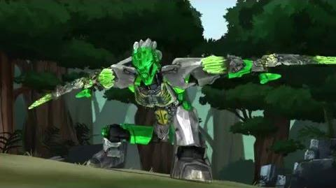 LEWA, UNITER OF JUNGLE - LEGO BIONICLE