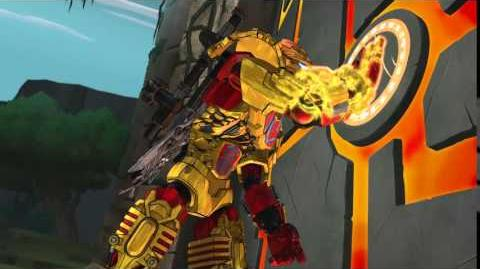 TAHU, UNITER OF FIRE - LEGO BIONICLE