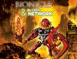 BIONICLE My Lego Network Logo