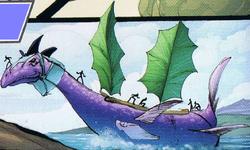 Spherus Magnan merieläin sarjakuva