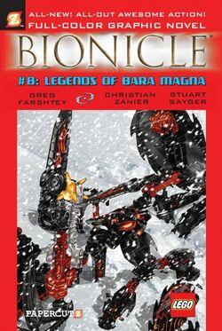 401px-Graphic Novel 8 Legends of Bara Magna-1-