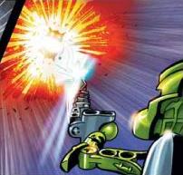 Comic Av-Matoran Power Sword In Use