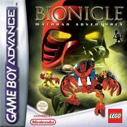 Bionicle Matoran Adventures UK PAL Region version