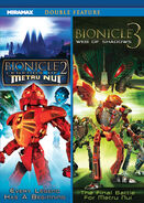 Bionicle the movie 2 and 3 double feature front cover