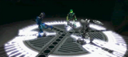 LBLMN cutscene of the assembly of Toa Kaita, Wairuha
