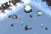 Huai Snowball Sling Gameplay
