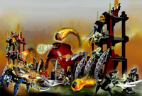 Set Battle of Metru Nui