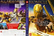 Back cover of Bionicle the Movie 4