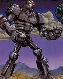 Prototyyppirobotti sarjakuva
