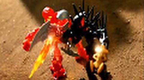BIONICLE Stars Battle Video 4 Tahu vs. Piraka HD