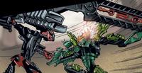 Comic Skrall Breaking Gresh Shield