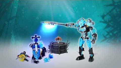 LEGO Bionicle 2015 - Gali Protector of Water Power-Up stop motion