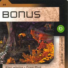 Number 034, Bonus card