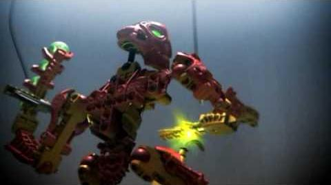 Bionicle Inika Red 2006