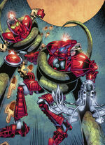 Comic Vakama and Nuhrii in Fire Pits