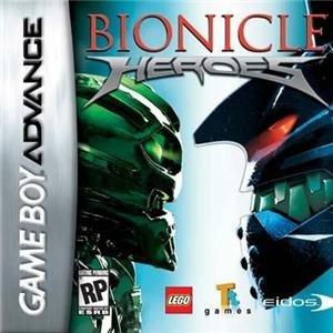 BIONICLE HEROES GBA kansi