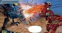 Comic Skakdi Nektann vs Toa Mata Tahu