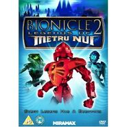 Bionicle the Movie 2 UK version